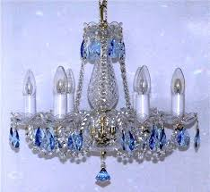 blue crystal chandelier interior colored glass chandeliers almonds navy earrings blue crystal chandelier