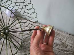 how to make a diy pendant lamp thrift diving blog 2