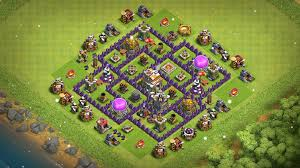 Clans Of Clans Base Design Top 10 Base Th7 Class Of Clans Base Top Trophy Base Th7