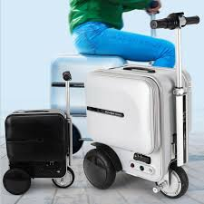 29.3L Airwheel SE3 PC <b>Suitcase Scooter Electric</b> Travel Carry ...