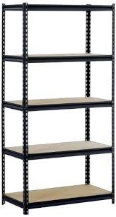 sandusky shelves l black steel heavy duty 5 shelf shelving unit capacity width x height x sandusky shelves