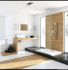 bathrooms with wood floors. Bathroom Modern White. White I Bathrooms With Wood Floors A