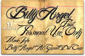 Fonts Billy Argel Font Regular By Billy Argel Abstract Fonts