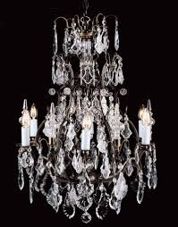 prociosa georgian lead crystal chandelier czech republic impg24 finish shown antique bronze french gold also available in 59cm dia x 84cm high chain 6