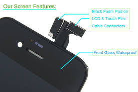 Screen Touch Lcd Display Iphone Digitizer 4s Assembly For Black