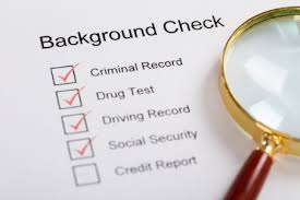 pre-employment background check
