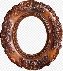 picture frames wood oval antique framing mirror