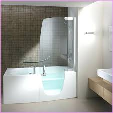 walk in bathtub shower combination the step bath combo pertaining to within decor 7 tub menards