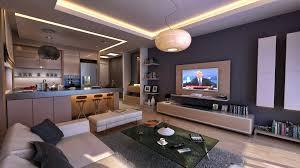 Full Apartment Interior Design Stylish Apartment Interior Design Modern Design Models