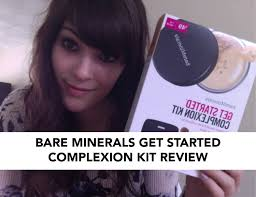 tutorial bare minerals plexion get started kit thoughts full coverage acne foundation
