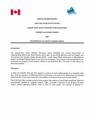 2018 Annual Progress Report Memorandum Of Understanding