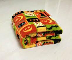 Halloween Fleece Throw Blankets