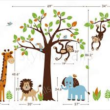 safari wall decals for nursery safari jungle animals huge set nursery kids playroom vinyl wall decal on baby safari nursery wall art with wall decal nice safari wall decals for nursery safari animal wall