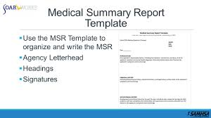 The Soar Medical Summary Report Please Stay On The Line - Ppt Download