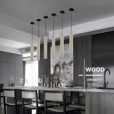 retro loft slim cement hanging pendant light kitchen bar island diy concrete pendant lamp