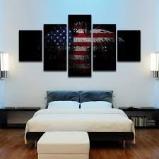 patriotic eagle wall 5 piece canvas art on patriotic canvas wall art with patriotic eagle wall 5 piece canvas art vigor and whim