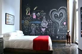 fun chalkboard wall small kids bedroom design chalk paint clear