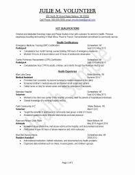 Cna Resume Sample Unique Pre Med Resume Samples Fieldstation