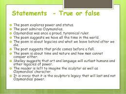 poetry lesson ozymandias 9