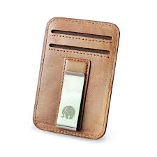 <b>Wholesale Leather Money</b> Clip Metal Wallet Men Thin Billfold ...