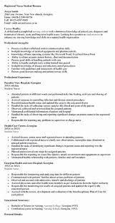 Student Nurse Resume Template Free Beautiful Nursing Student Resume