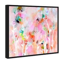Aurora Flowers | Abstract Wall Art by Oliver Gal