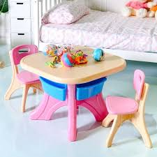 table chair for kid plastic children kids table chair set 3 piece play furniture in outdoor table chair for kid
