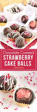 valentine s day chocolate covered strawberry cake