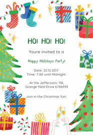 free printable christmas invitations templates free printable holiday invitation templates greetings island