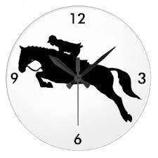 Znalezione obrazy dla zapytania horse clock