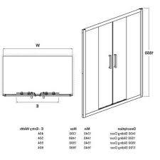 Size Of Sliding Door - Neal Johnson Ltd