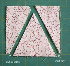 "Patchwork Tree Quilt Block Tutorial - Diary of a Quilter - a quilt ... & Stack the two 4 1/2"" x 4 1/2"" squares on top of each other, with both right  sides facing up. Using a ruler and a rotary cutter, cut one side of your '  ... Adamdwight.com"