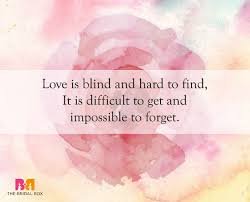 Love Is Blind Quotes Simple 48 Of The Best Love Is Blind Quotes For Lovers