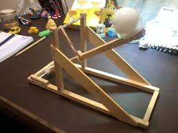 Simple Catapult Design Ping Pong Ball Catapult 4 Steps Instructables