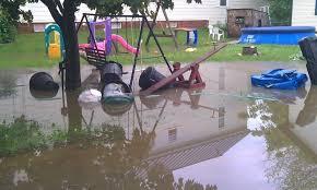 Backyard Water Drainage Problems  Dallas Home InspectorDrainage In Backyard