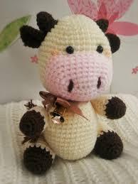 Crochet Cow Pattern Best Decorating