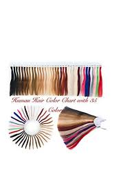 Amazon Com Hair Extensions Color Rings Hair Color Chart
