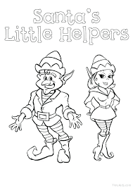 Elf On The Shelf Coloring Pages Free Printable Elf On A Shelf