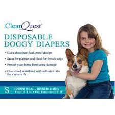 Disposable Dog Diapers \u2013 Vet Selected at Doolittle\u0027s Pet Products