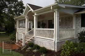 Craftsman Porch Railing Designs Porch Traditional With Medium Porch Railing Pictures