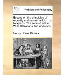 religion and morality essay the objectivity and rationality of essays on the principles of morality and natural religion in two essays on the principles of