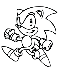Sonic Coloring Page Coloring Page Sonic Video Games Printable
