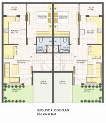 front facing kitchen house plans lovely 20 x 40 house plans best vastu for north facing