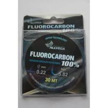 <b>Леска</b> FLUOROCARBON 100% FX 0,22mm 30м <b>ALLVEGA</b> - купить ...