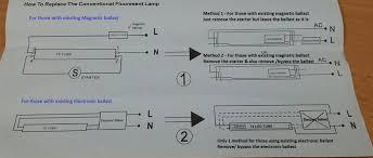 t8 electronic ballast wiring diagram fluorescent led tube light Fluorescent Light Ballast Wiring Diagram t8 electronic ballast wiring diagram fluorescent led tube light replacement