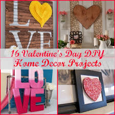 16 valentine s day diy home decor projects
