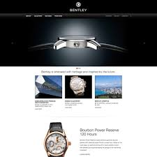 watch and jewelry design exle for bentley luxury watch