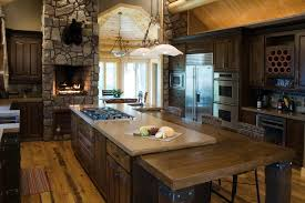 Kitchen Present Awesome Designs From Rustic Kitchen Ideas Designoursign