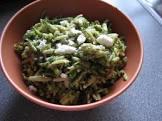 basil zucchini orzo salad