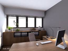 modern office lamps. Divine Home Office Look With Table For Imac : Classy Design Ideas Using L Shaped Brown Modern Lamps E